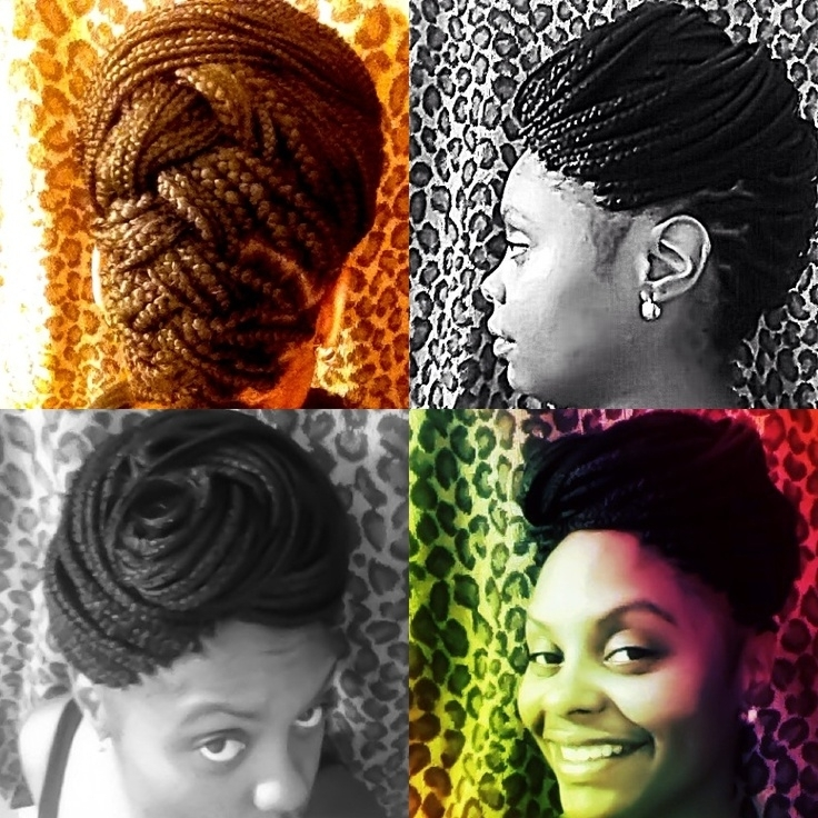 53 Best Hair: ) Images On Pinterest | Natural Hair, Hairdos And Braids With Regard To Latest Pinned Up Braided Hairstyles (View 5 of 15)