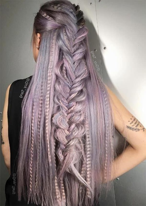 53 Great Crimped Hairstyles That Are Fun To Play With Throughout Most Recently Crimped Crown Braids (View 11 of 15)