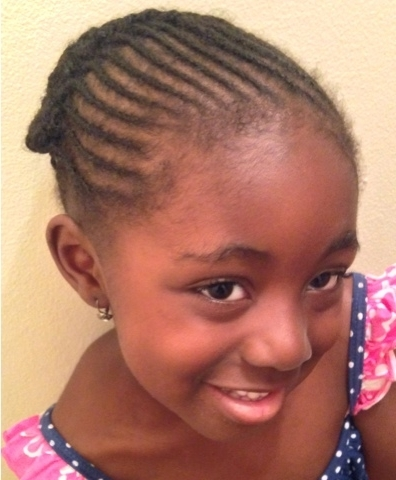 53 Mini Cornrows With A Crown Braid|Back To School Hair – Coilybella Throughout Most Current Mini Cornrows Hairstyles (View 3 of 15)