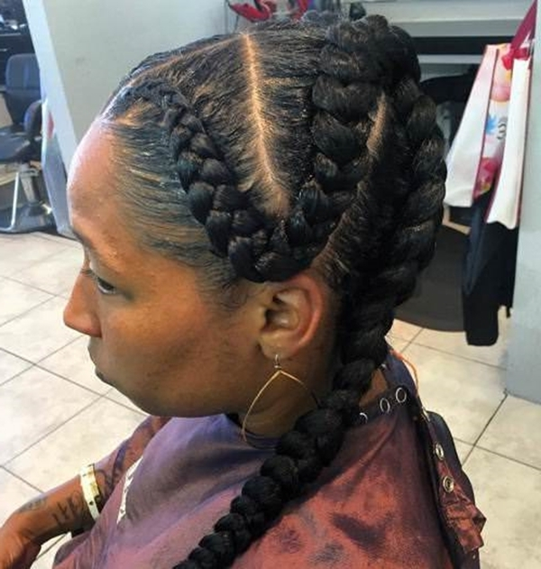 55 Of The Most Stunning Styles Of The Goddess Braid Throughout Most Current Long Curvy Braids Hairstyles (View 3 of 15)