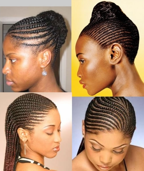 55 Superb Black Braided Hairstyles That Allure Your Look – Fabulous Regarding Most Recently Cornrows Hairstyles For Ladies (View 13 of 15)