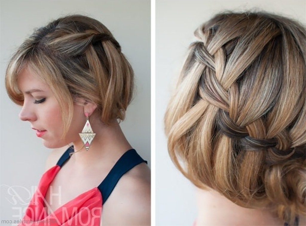 56 Cute Short Braid Haircuts For Sweet Girls Throughout Most Recent Braided Hairstyles On Short Hair (View 10 of 15)