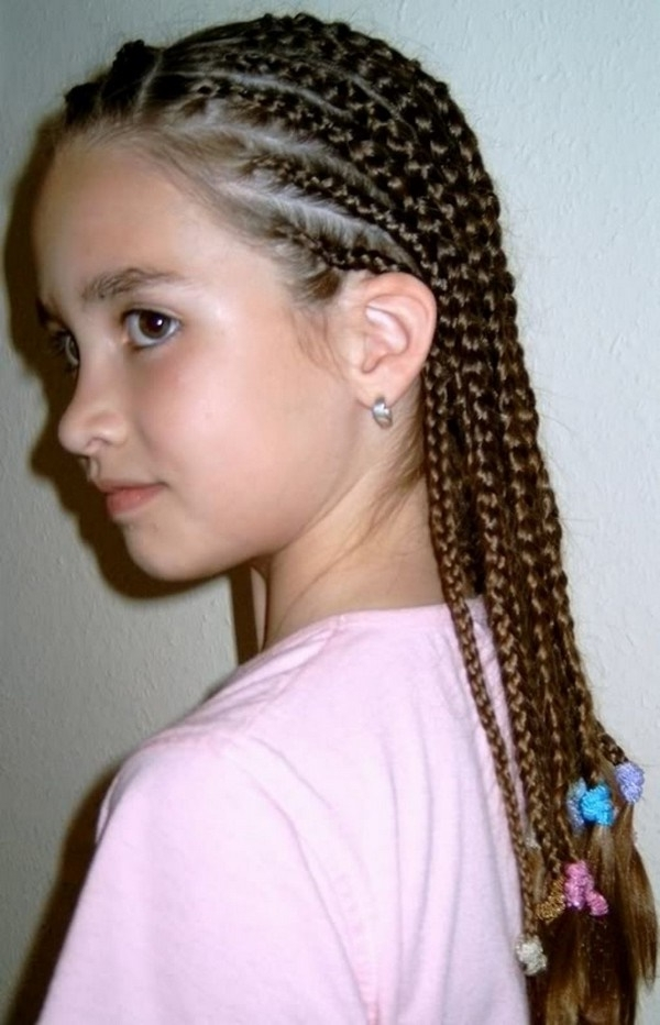 58 Beautiful Cornrows Hairstyles For Women Within Most Popular Cornrows Hairstyles With White Color (View 7 of 15)