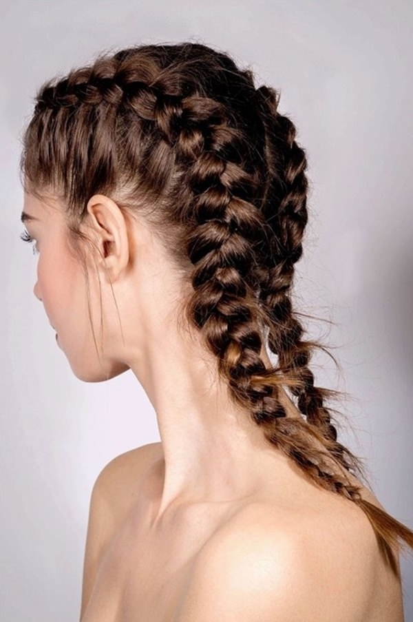 58 Stunning And Inspiring Dutch Braid Hairstyles That You Will Love Inside Recent French Braids Into Pigtails (View 9 of 15)
