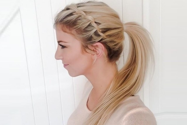 6 Braided Ponytail Hairstyles | Style Presso For Current Lattice Weave With High Braided Ponytail (View 9 of 15)