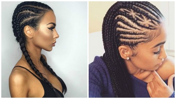 6 Easy Ways To Cornrow Hair Intended For Most Recently Easy Cornrows Hairstyles (View 4 of 15)