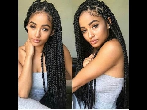 60 Beautiful Cornrow Styles For Round Faces; Great Collection Of Intended For Recent Braided Hairstyles For Round Face (View 8 of 15)
