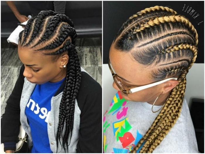 60 Cute Boho Hairstyles For Short, Long, Medium Length Hair Regarding Most Up To Date Medium Cornrows Hairstyles (View 9 of 15)