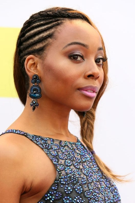 60 Easy Braided Hairstyles - Cool Braid How To's & Ideas within Most Recently Cornrows Hairstyles To The Back