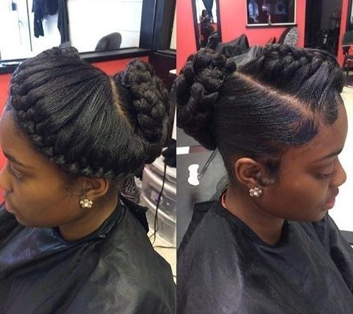 60 Inspiring Examples Of Goddess Braids   Pinterest   Updo, Goddess Pertaining To Recent Asymmetrical Goddess Braids Hairstyles (View 6 of 15)