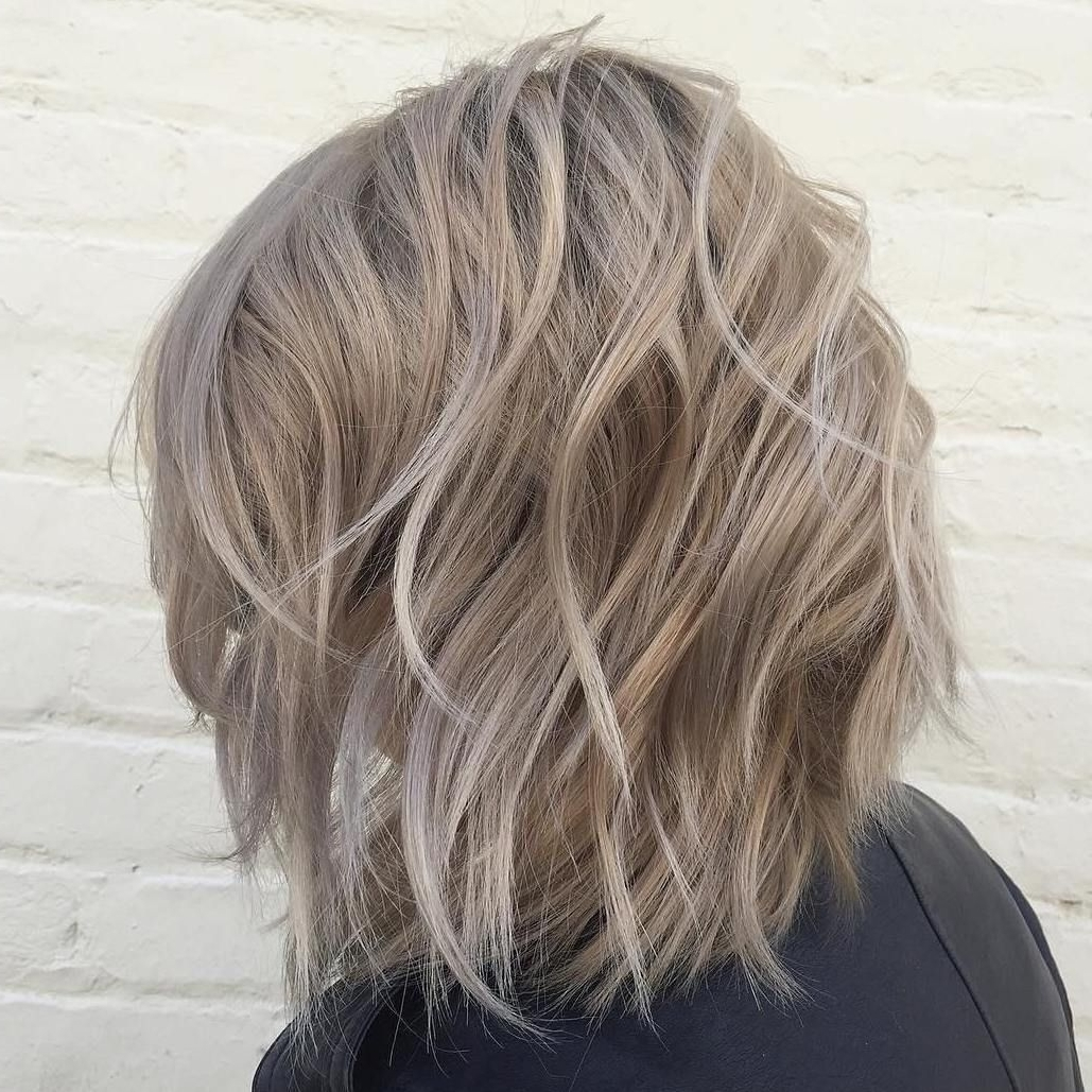 60 Messy Bob Hairstyles For Your Trendy Casual Looks | Short Hair Within 2018 Pastel And Ash Pixie Haircuts With Fused Layers (View 15 of 15)