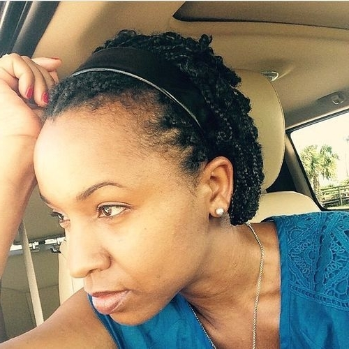 60 Most Inspiring Natural Hairstyles For Short Hair – Page 42 Intended For 2018 Braided Natural Hairstyles For Short Hair (View 14 of 15)
