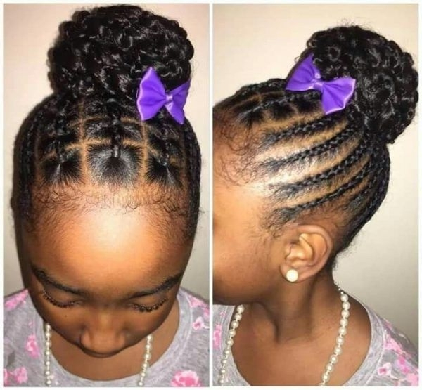 """60 Unbelievable Cornrow Styles For Girls That'll Make You Ask """"but In Current Cornrows Hairstyles For Toddlers (View 2 of 15)"""