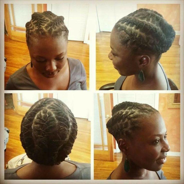 614 Best Locs Images On Pinterest   Dreadlocks, Braids And Dreadlock Inside Latest Dreadlock Cornrows Hairstyles (View 5 of 15)