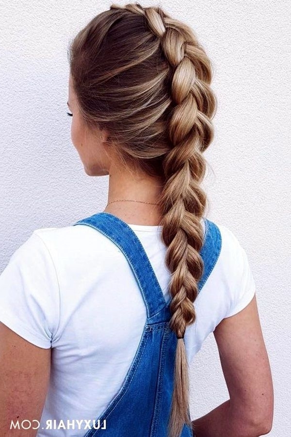 65 Quick And Easy Back To School Hairstyles For 2017   Hair Styles With 2018 Braided Hairstyles For School (View 3 of 15)
