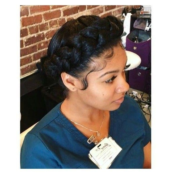66 Stunning Halo Braid Ideas That You Will Love With Current Thick Halo Braid Hairstyles (View 13 of 15)