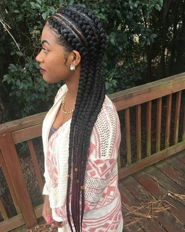 67 Incredible Goddess Braids To Be Inspired From – Style Easily Pertaining To Recent Long Curvy Braids Hairstyles (View 14 of 15)