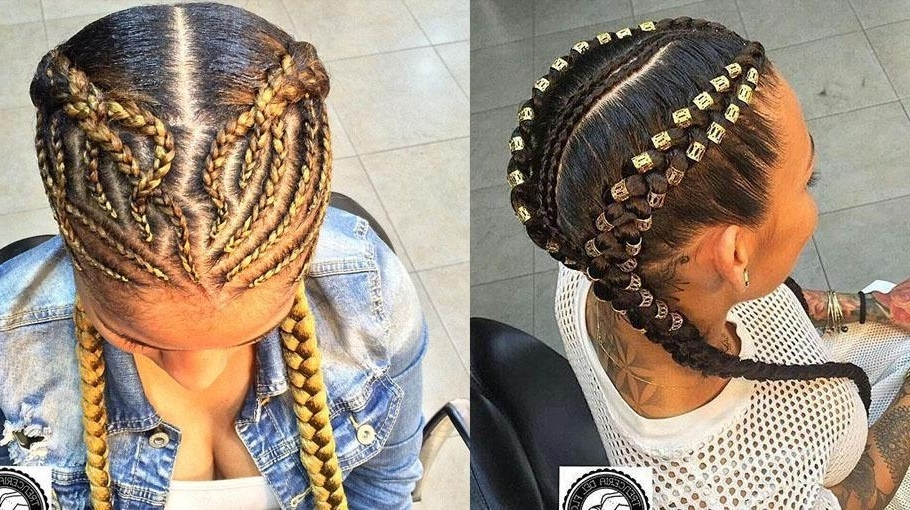 Featured Photo of Intricate Boxer Braids Hairstyles