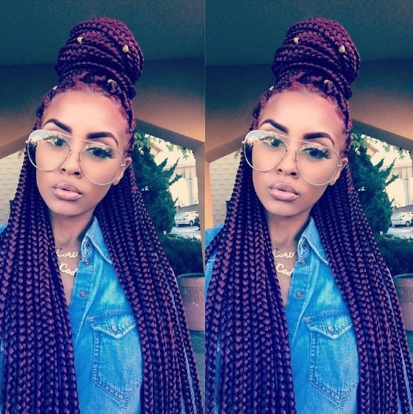 7 Different Box Braids Hairstyles For Black Women (Not You, Kylie Regarding Best And Newest Box Braids Hairstyles (View 8 of 15)