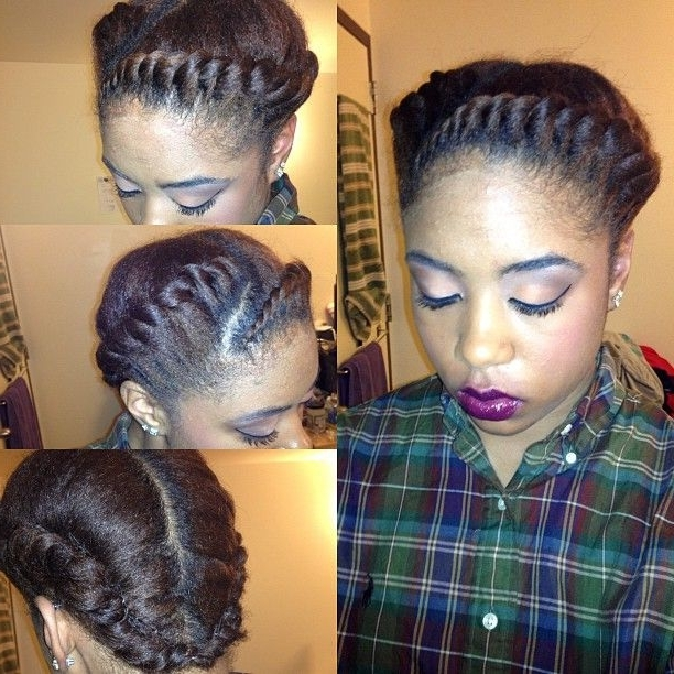 7 Ways To Fiercely Rock The Braided Protective Style | French Braid Throughout Recent Braided Hairstyles For Relaxed Hair (View 5 of 15)