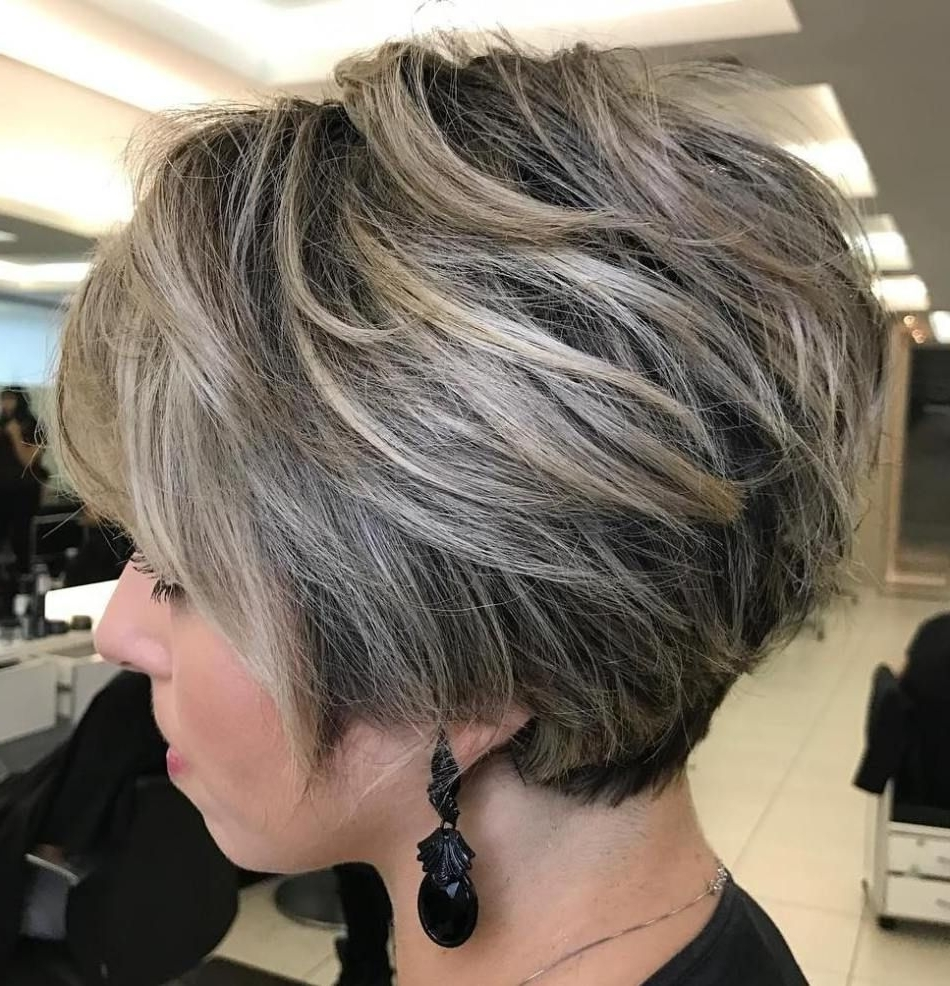 70 Cute And Easy To Style Short Layered Hairstyles | Blonde Balayage Intended For 2018 Balayage Pixie Haircuts With Tiered Layers (View 13 of 15)