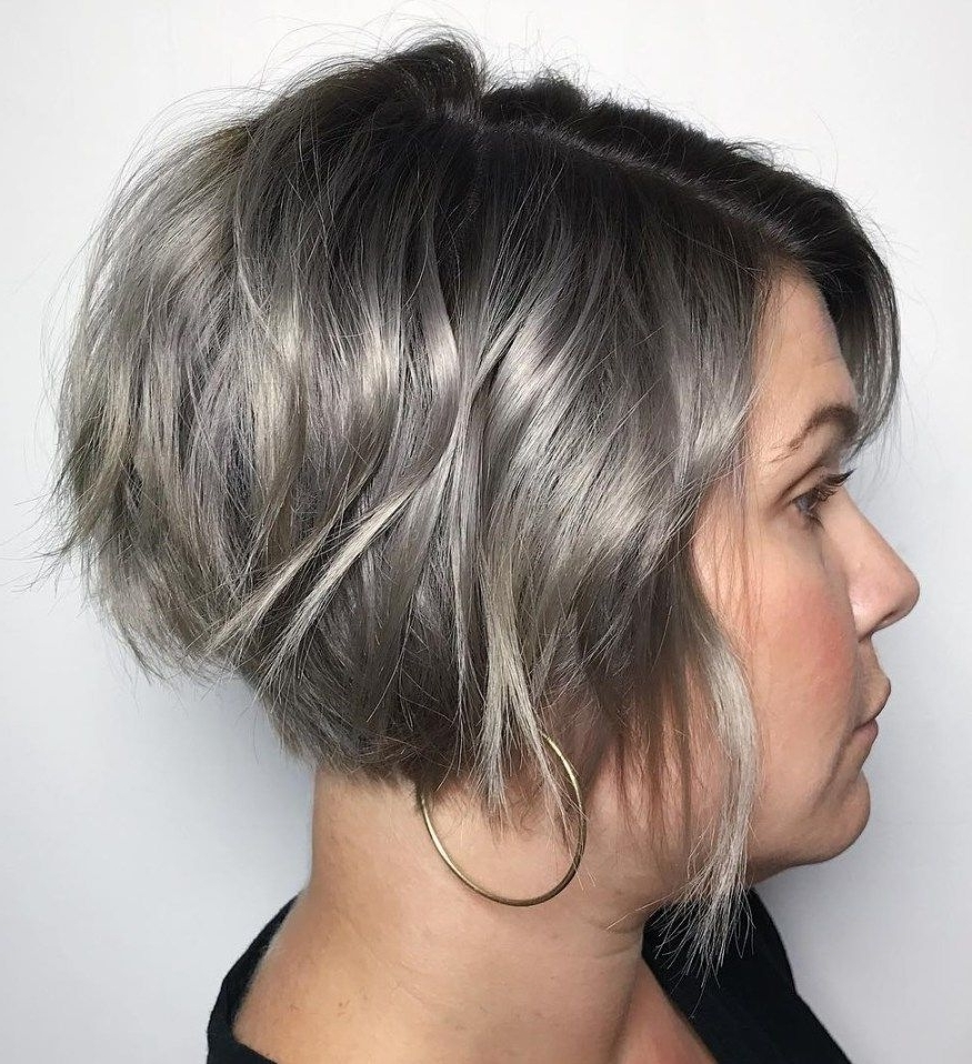 70 Cute And Easy To Style Short Layered Hairstyles | Pinterest For Most Recently Razored Haircuts With Precise Nape And Sideburns (Gallery 6 of 15)