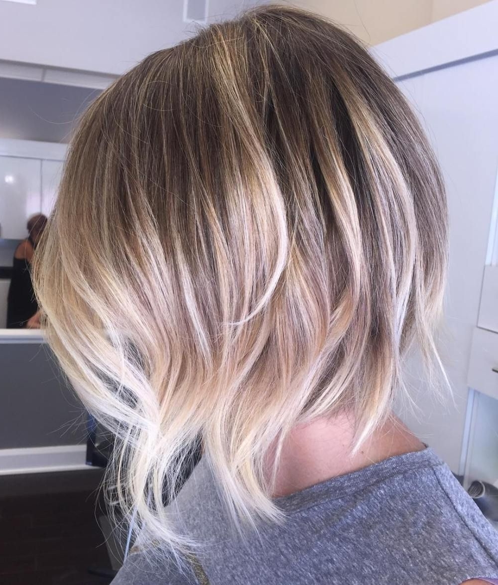70 Fabulous Choppy Bob Hairstyles | Pinterest | Choppy Layers For Most Recently Balayage Pixie Haircuts With Tiered Layers (Gallery 9 of 15)