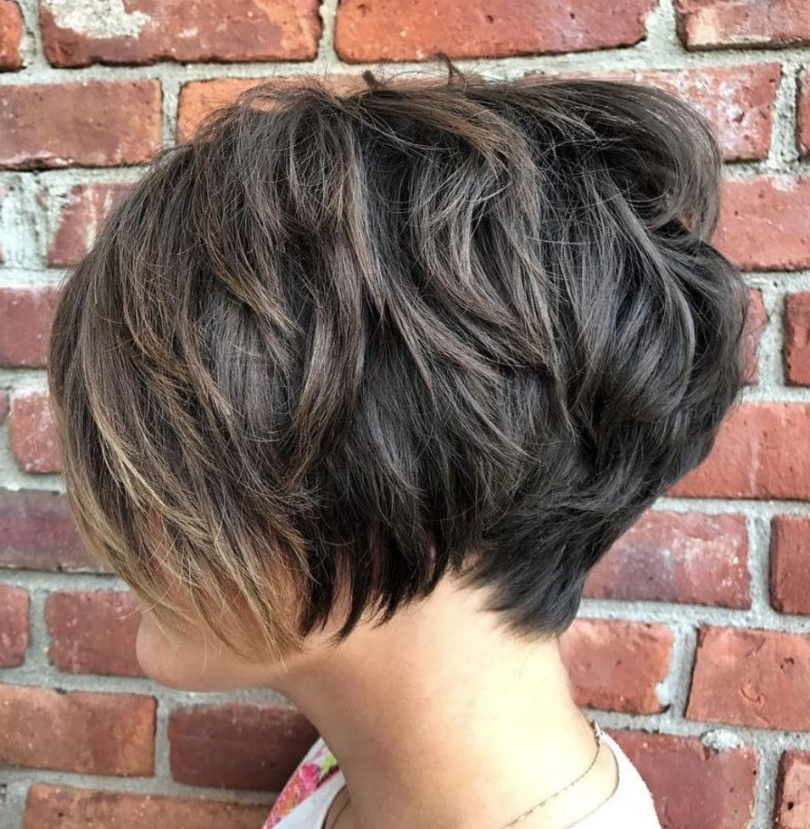 70 Short Shaggy, Spiky, Edgy Pixie Cuts And Hairstyles | Choppy With Most Recently Piece Y Haircuts With Subtle Balayage (View 15 of 15)