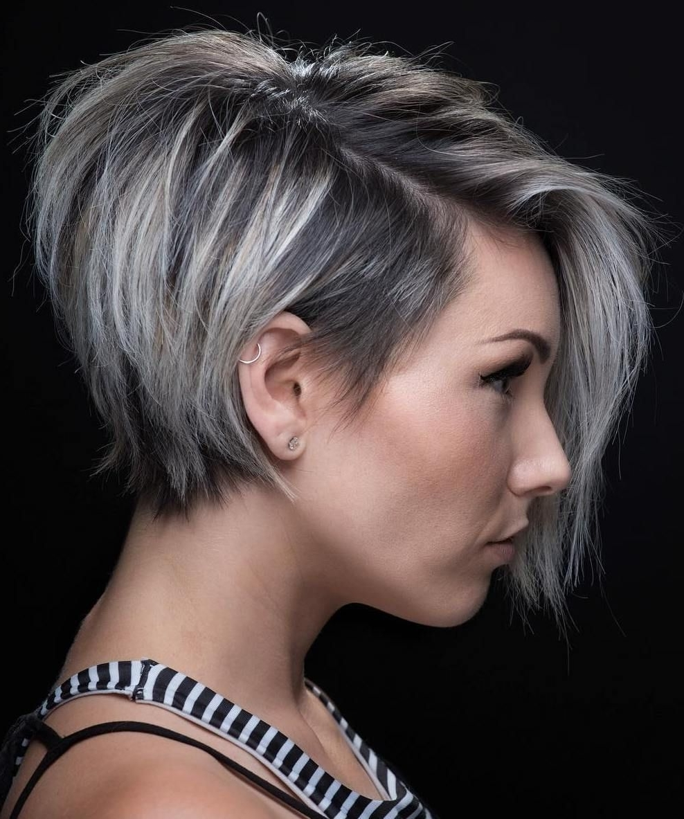 70 Short Shaggy, Spiky, Edgy Pixie Cuts And Hairstyles | Hair Throughout Current Choppy Asymmetrical Black Pixie Haircuts (Gallery 9 of 15)