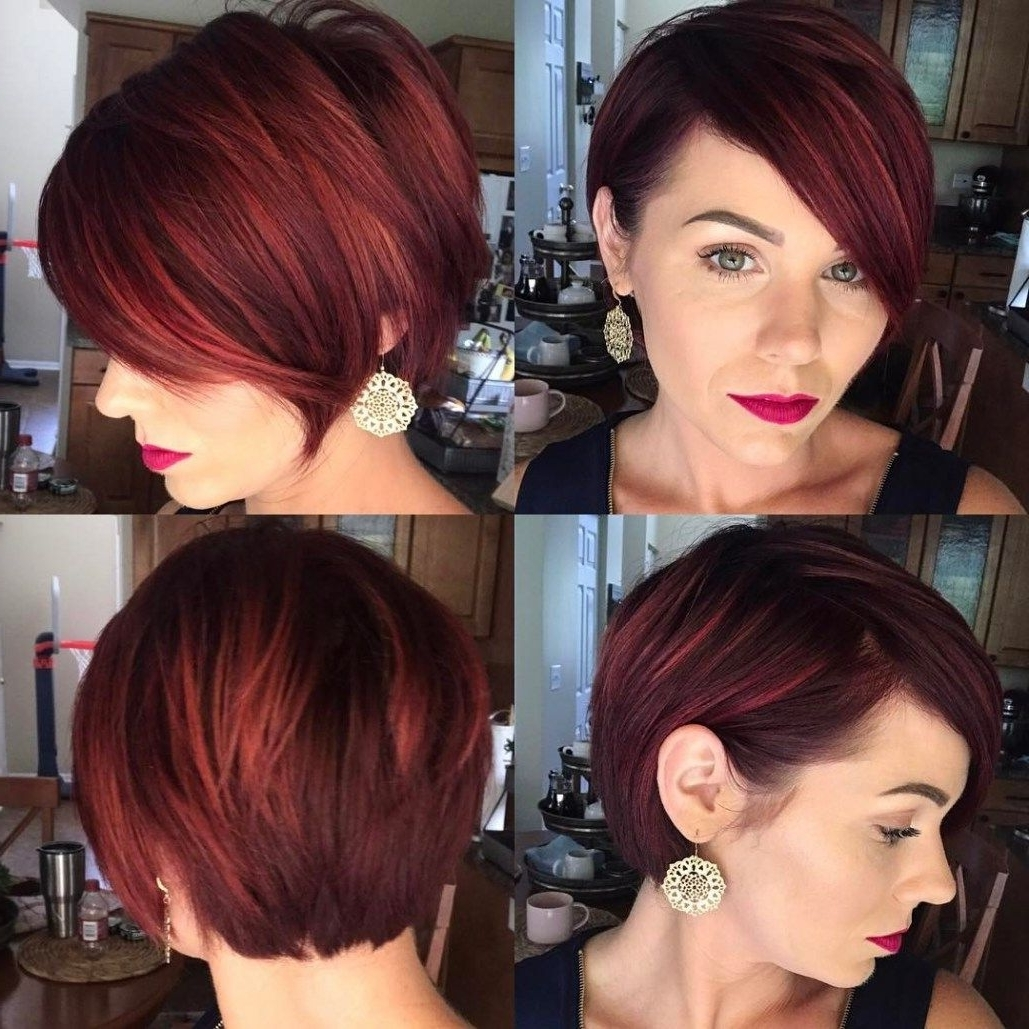 70 Short Shaggy, Spiky, Edgy Pixie Cuts And Hairstyles | Pixie Bob Throughout Current Reddish Brown Layered Pixie Bob Haircuts (Gallery 1 of 15)