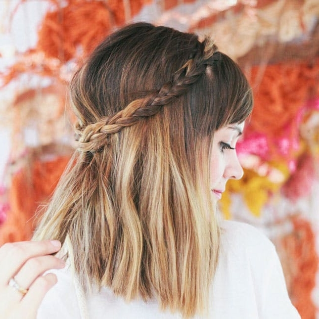 73 Bob And Lob Hairstyles That Will Make You Want Short Hair | Brit + Co Regarding Most Recent Braided Lob Hairstyles (View 15 of 15)