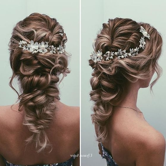 75 Cutest Quinceanera Hairstyles You Always Dreamed Of Throughout Recent Braided Quinceaneras Hairstyles (View 2 of 15)