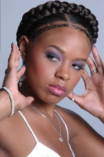 75 Super Hot Black Braided Hairstyles To Wear | Hair | Pinterest Within Most Recent Braided Hairstyles For Black Hair (View 11 of 15)
