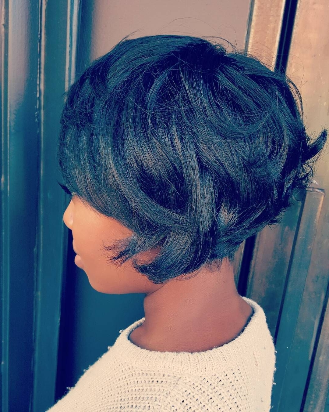 766 Likes, 23 Comments – Khristie Jackson (@mrskj5) On Instagram Inside Most Recent Imperfect Pixie Haircuts (Gallery 1 of 15)