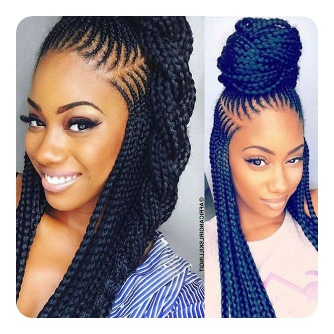 77 Hairstyle Inspirations To Rock The Lemonade Braid Trend Inside Latest Lemonade Braided Hairstyles (View 4 of 15)