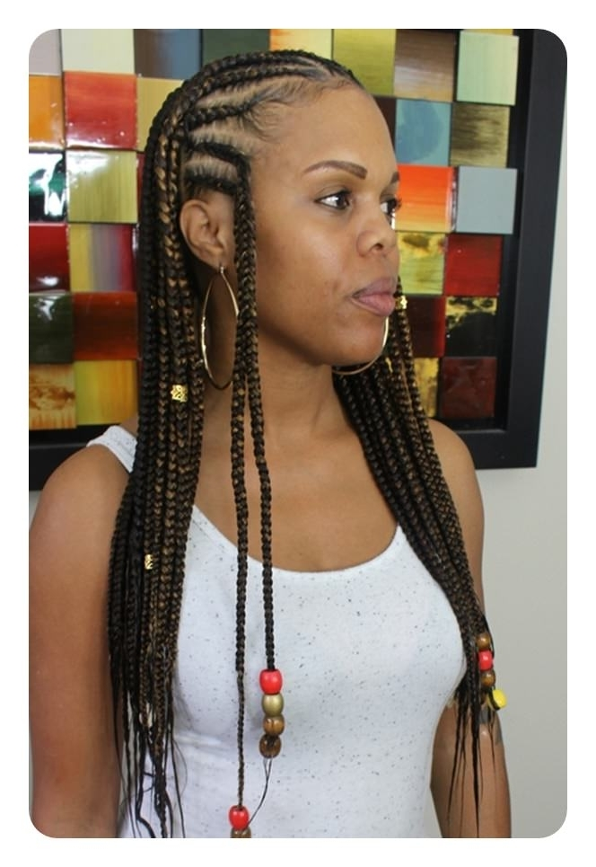 77 Hairstyle Inspirations To Rock The Lemonade Braid Trend Inside Most Recent Beyonce Cornrows Hairstyles (View 6 of 15)
