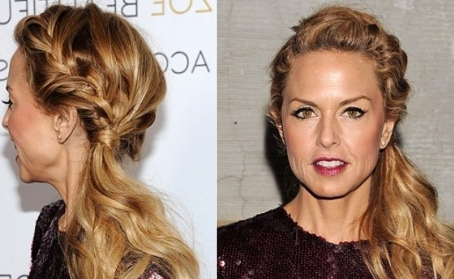 8 Celebrity Inspired Braided Hairstyles That Make You Look Glam With Regard To Best And Newest Flowy Side Braid Hairstyles (Gallery 5 of 15)