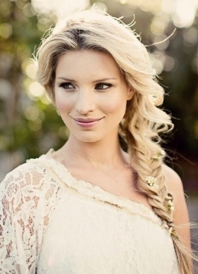 8 Chic Side Braid Hairstyles – Popular Haircuts Intended For Loose Throughout Latest Braided Loose Hairstyles (Gallery 14 of 15)