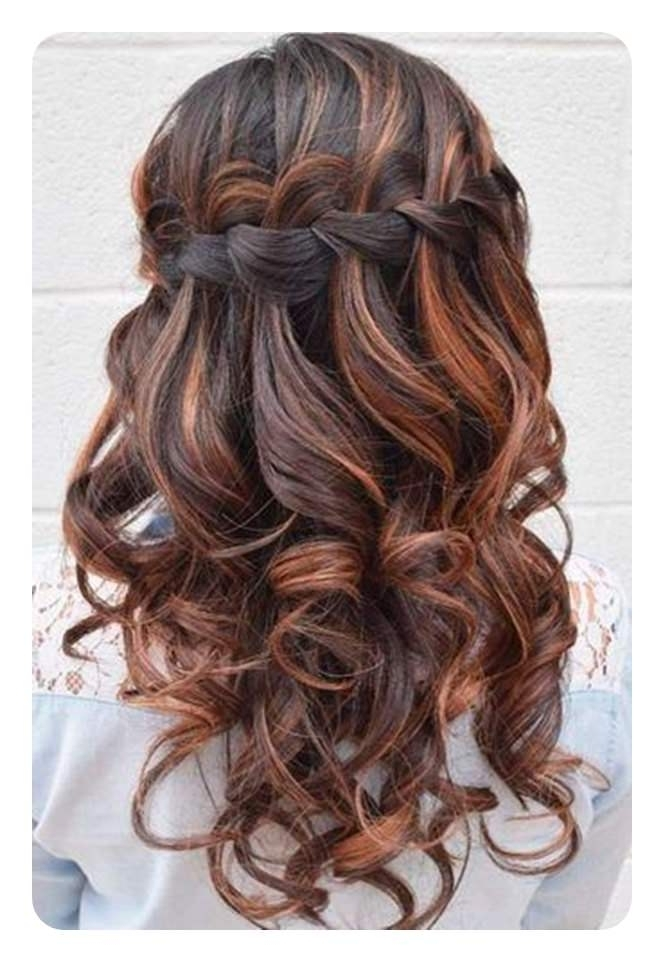 82 Graduation Hairstyles That You Can Rock This Year With Best And Newest Braided Graduation Hairstyles (Gallery 4 of 15)