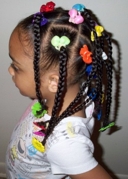 9 Adorable Braided Hairstyles For Black Girls With Beads That Will Intended For Newest Braided Hairstyles For Young Ladies (View 11 of 15)