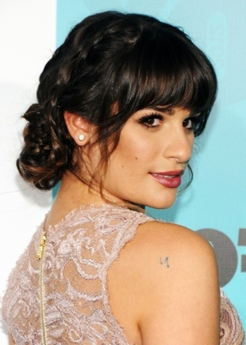 95 Best Braided Hairstyles – Hairstyle Insider Intended For Current Braided Hairstyles With Bangs (View 12 of 15)