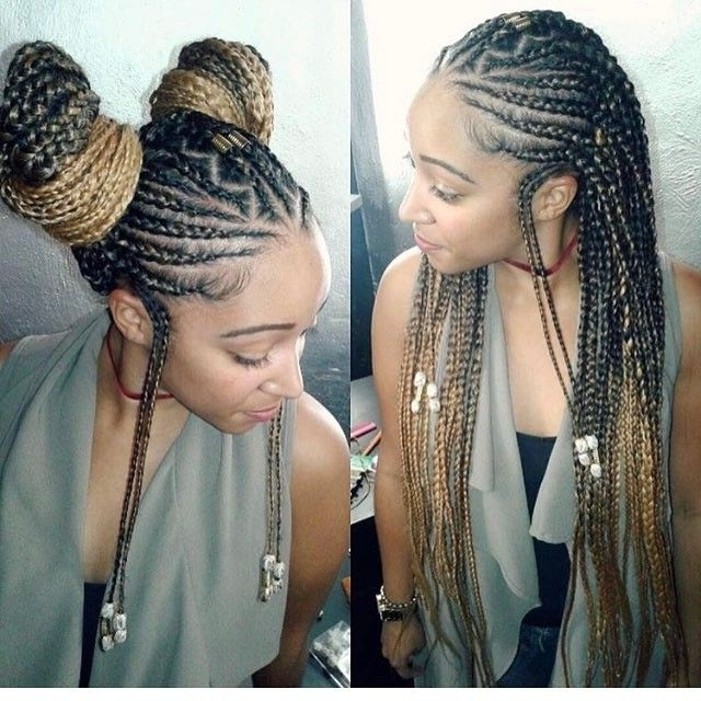 95 Best Braids Images On Pinterest | Hairstyles, Hair And Braids Inside Most Up To Date Nubian Princess Fulani Braid Pullback (View 10 of 15)