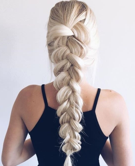 99 Most Fashionable Prom Hairstyles This Year – Reachel With Latest Prom Braided Hairstyles (View 11 of 15)