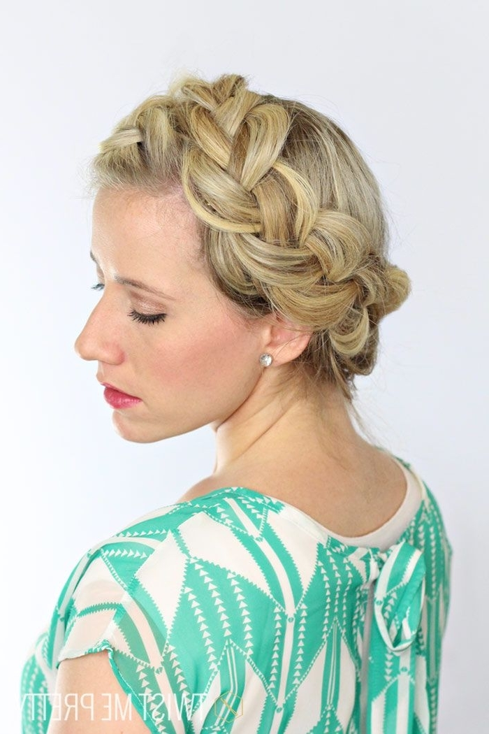 Featured Photo of Thick Halo Braid Hairstyles