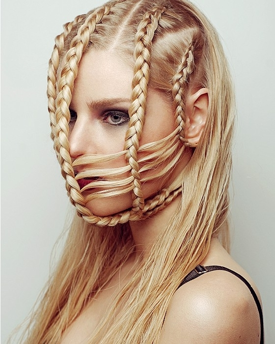 A Long Blonde Hairstyle From The Capsule Collectionanna Wade (No For Current Blonde Braided Hairstyles (View 15 of 15)