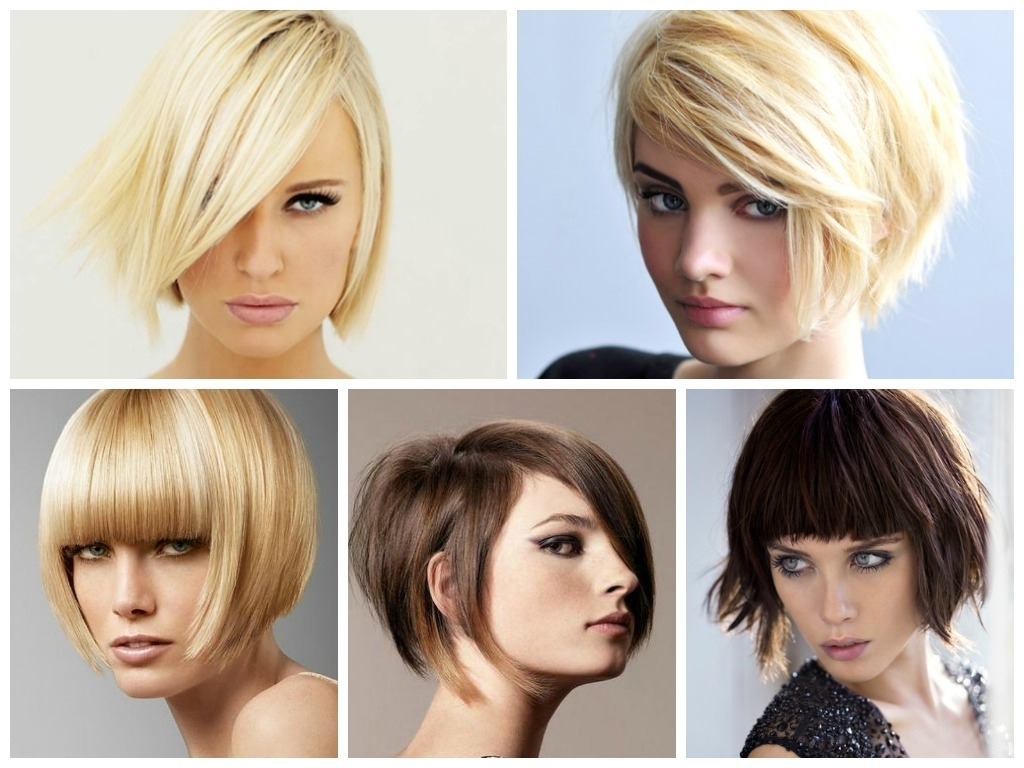 A Selection Of Short Inverted Bob Haircuts – Hair World Magazine Inside Most Recently Stacked Pixie Bob Haircuts With Long Bangs (Gallery 14 of 15)