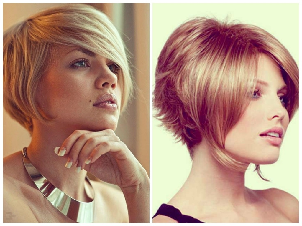 A Selection Of Short Inverted Bob Haircuts – Hair World Magazine With Most Current Stacked Pixie Bob Haircuts With Long Bangs (Gallery 12 of 15)