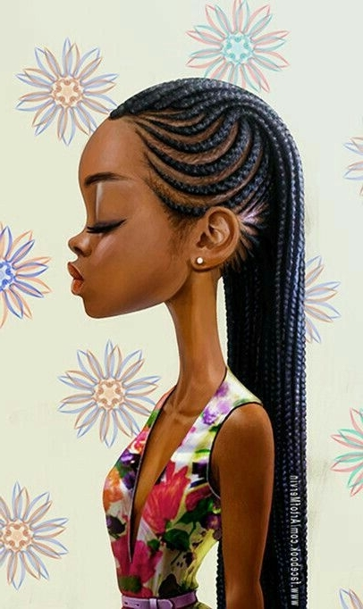 Absolutely Love This Picture Such Beautiful, Unique And Modern Regarding Most Recent Modern Cornrows Hairstyles (Gallery 11 of 15)