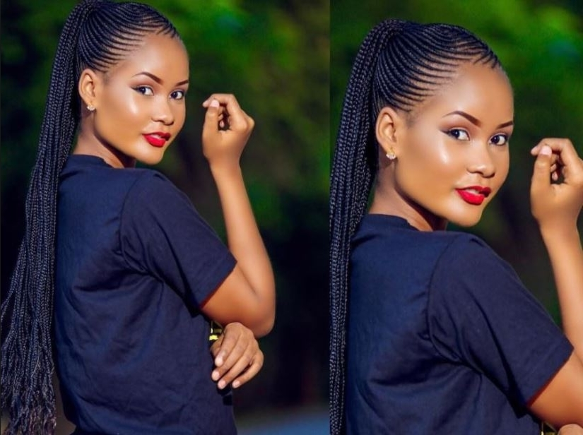 Adorable Cornrows Styles That Will Glam Up Your Look In Most Popular Cornrow Hairstyles Up In One (View 14 of 15)