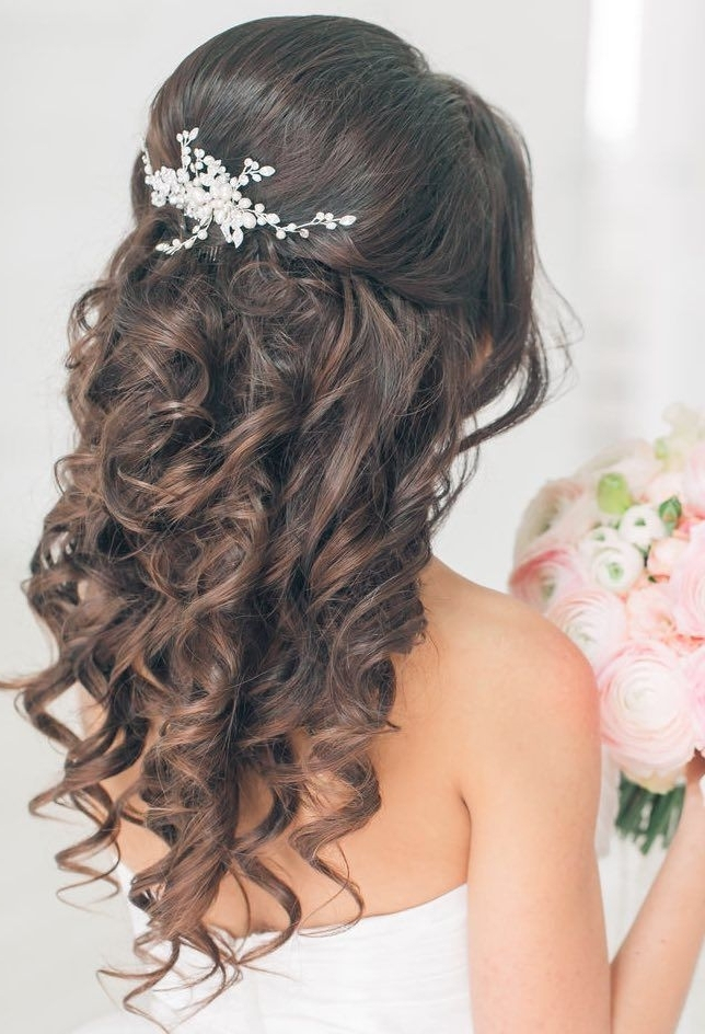 Adorable Quinceanera Hairstyles For Medium Length Hair About Within Best And Newest Braided Quinceaneras Hairstyles (View 7 of 15)